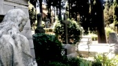 View of a Tomb in the Non-Catholic Cemetery
