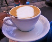 First cappuccino.... so good
