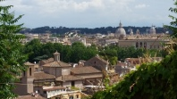 View atop the Janiculum Hill