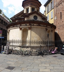 Small temple in Milan