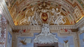 Coat of Arms in the Vatican Museums