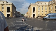 Leaving the Vatican