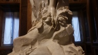 The foot of Apollo and Daphne by Bernini