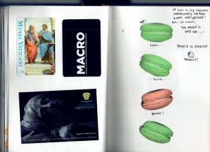 Tickets from Museums and the court case of Macarons